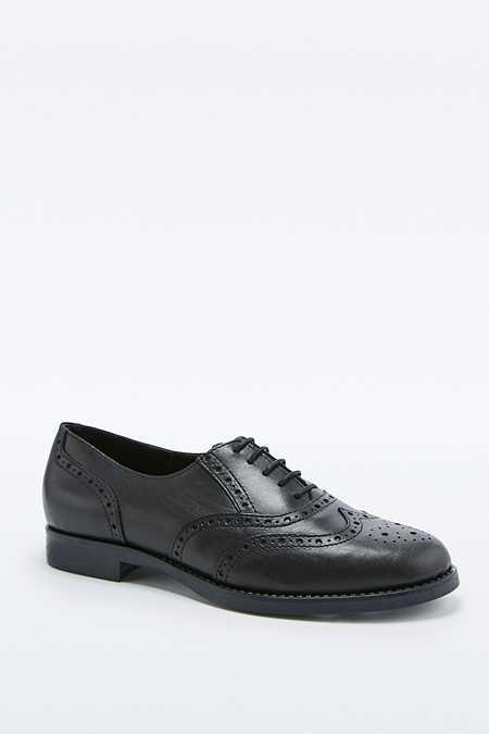 Chaussures richelieu Heidi à lacets noires