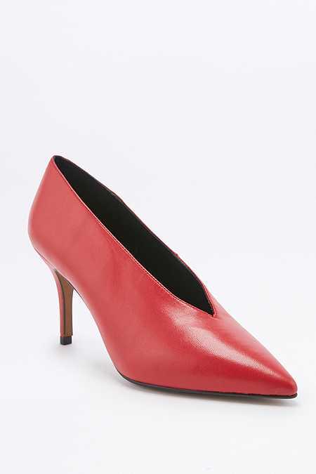 Escarpins Kylie vintage rouges style années 80
