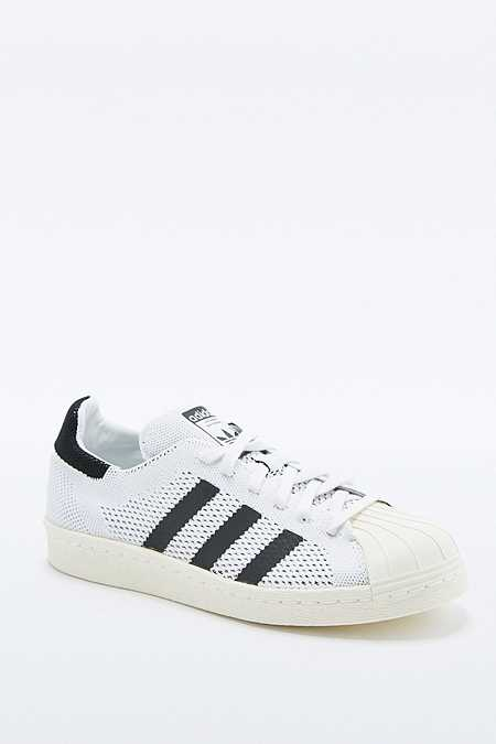 adidas Originals - Baskets Superstar Primeknit blanches