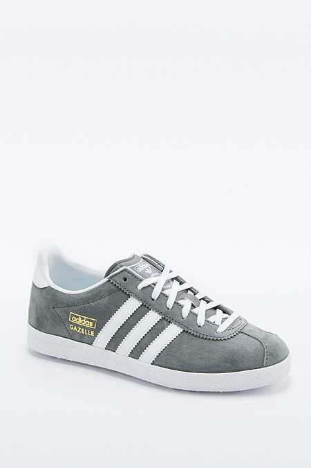 adidas Originals - Baskets Gazelle grises