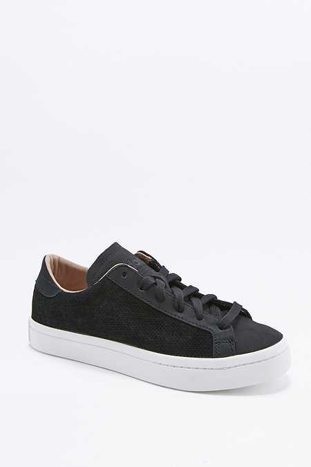 adidas Originals - Baskets Vantage perforées noires