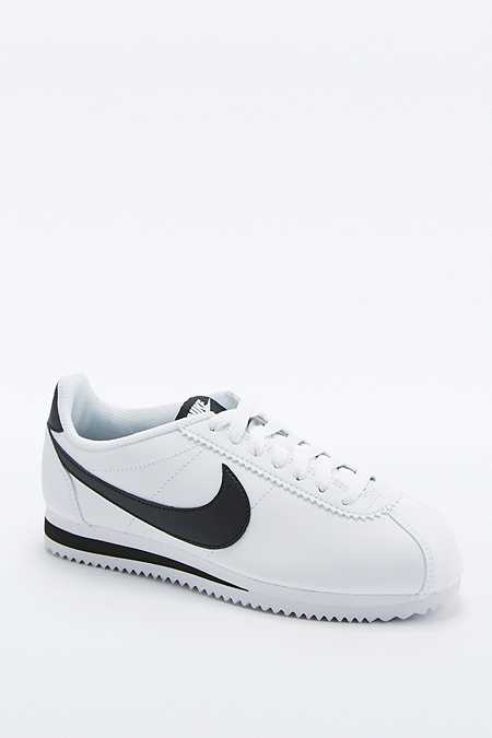 Nike - Baskets Classic Cortez en cuir blanches