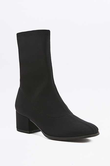 Vagabond Daisy Black Stretch Sock Boots