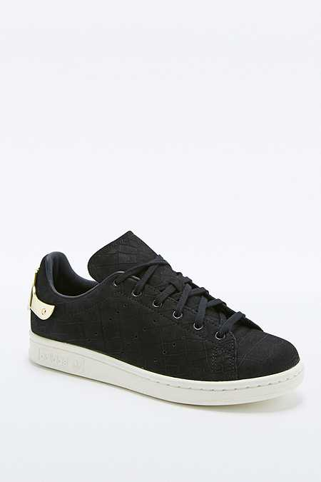 adidas Originals - Baskets Stan Smith imprimé serpent noir