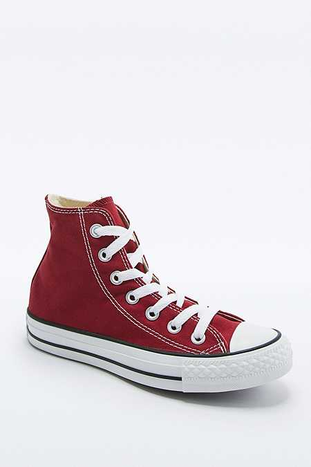 Converse - Baskets montantes All Star Chuck Taylor rouge vif