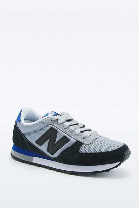 New Balance - Baskets 430 bleues et grises