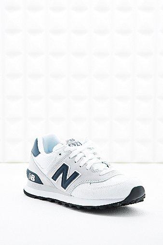 new balance 574 blanc et bleu