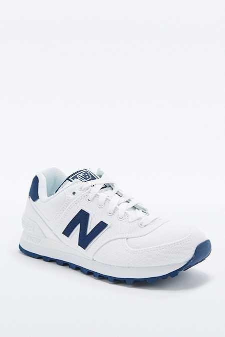 new balance bleue et blanche