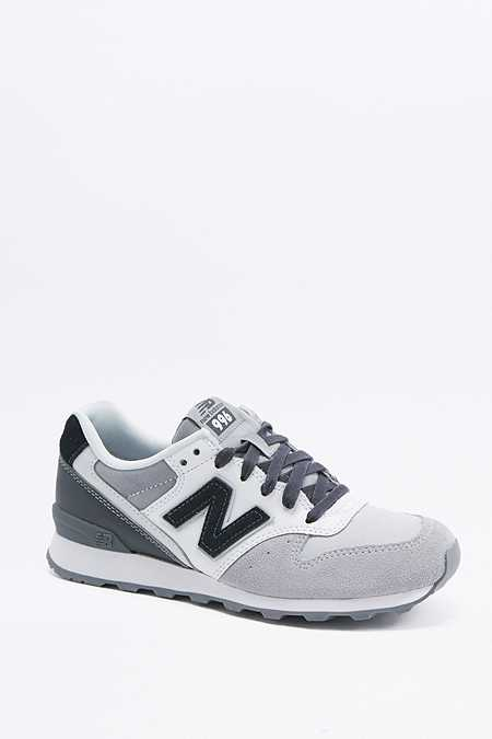 new balance 996 black and grey trainers