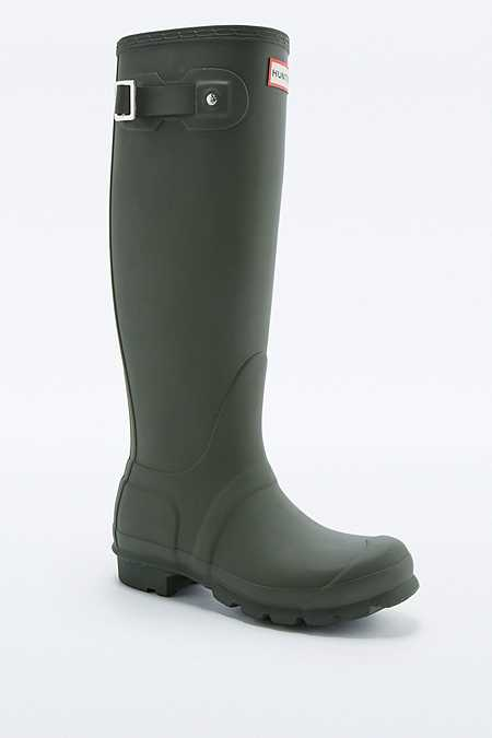 Hunter Original Tall Khaki Wellies