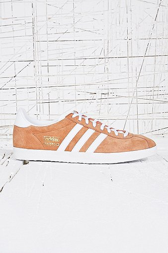 Adidas Gazelle Suede Trainers in Orange