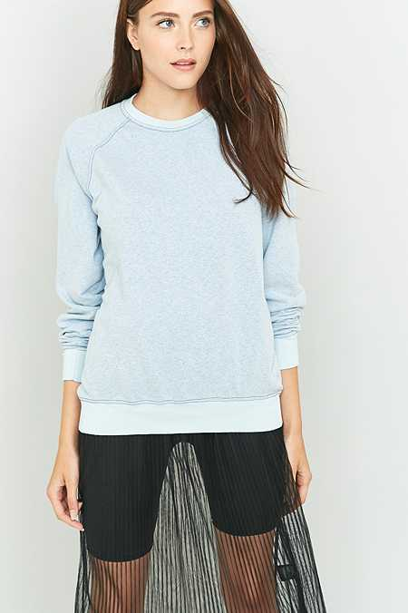 Urban Renewal Vintage Customised Overdyed Grey Sweatshirt