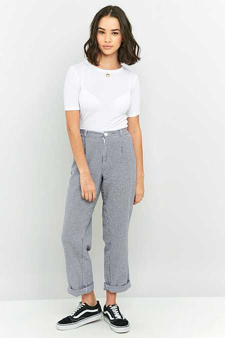 Urban Renewal Vintage Originals Checked Chef Trousers