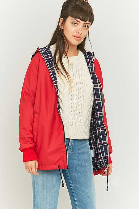 Urban Renewal Vintage Surplus Red Anorak