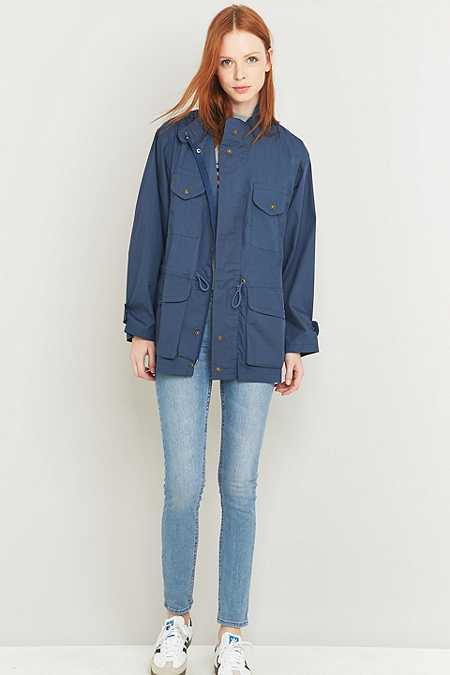 Urban Renewal Vintage Surplus Blue Anorak
