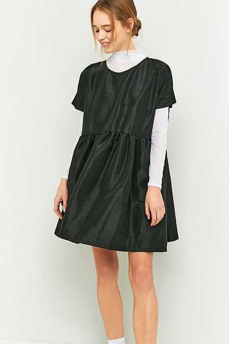 rework by Urban Outfitters Black Babydoll Dress