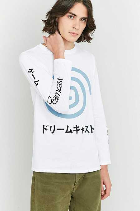 Urban Renewal Vintage Re-Made - T-shirt Dreamcast blanc