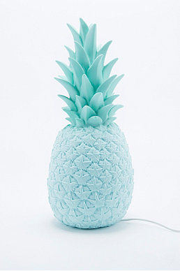 Goodnight Light Pineapple Lamp UK Plug in Blue