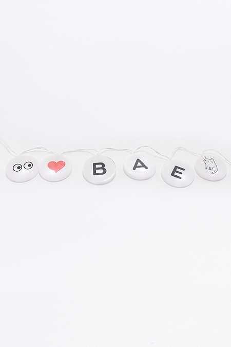 Guirlande lumineuse alphabet