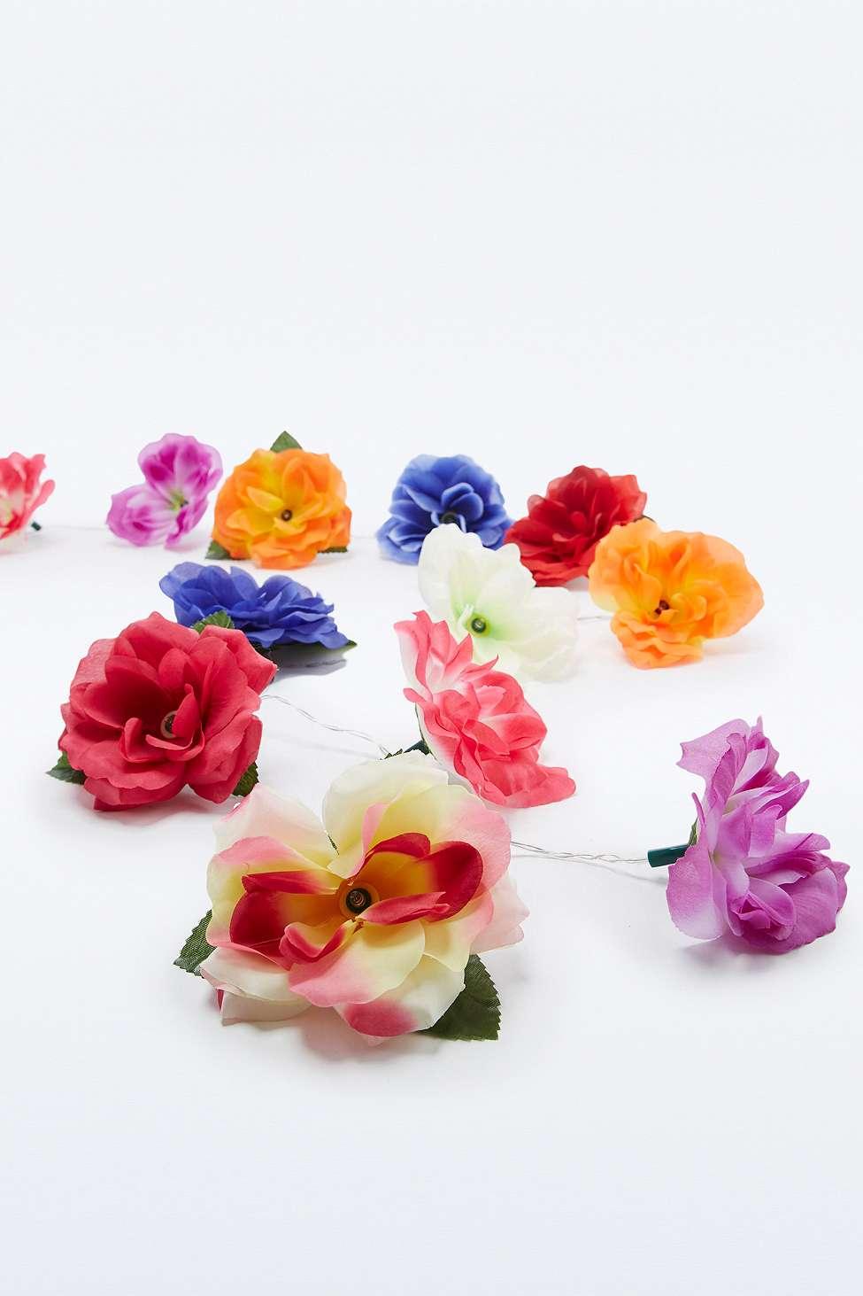 cheap gift ideas for teen girls floral fairy lights