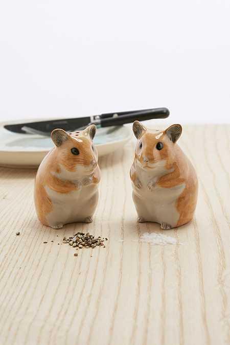 Salière et poivrière hamsters
