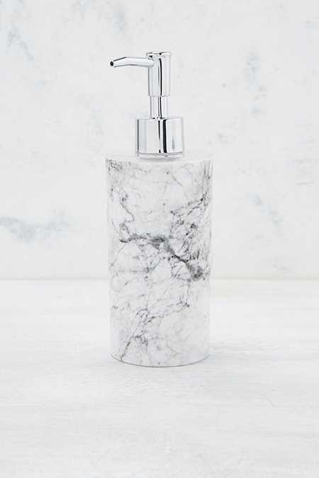 Bathroom accessories urban outfitters for Marble bathroom accessories uk