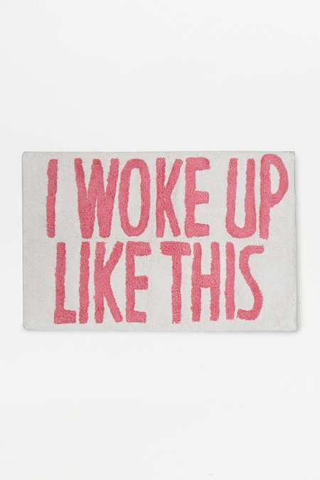 Tapis de bain I Woke Up Like This