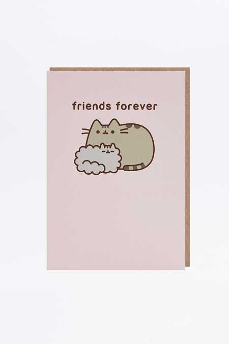 "Karte ""Pusheen Friends Forever"""