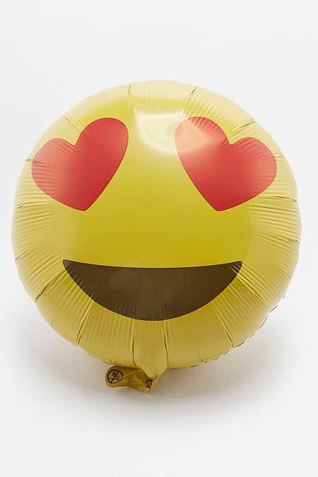 Ballon Émoji cœurs dans les yeux