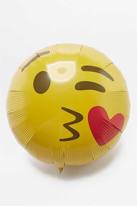 Ballon Emoji faisant un bisou