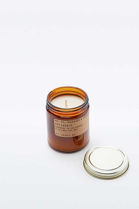 P.F. Candle Co. Teakwood & Tobacco 7.5oz Soy Candle
