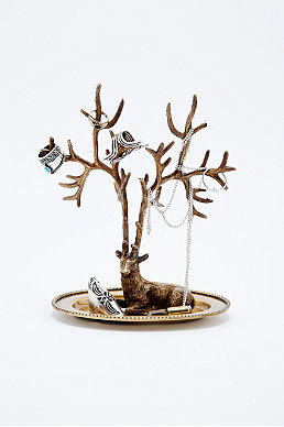 Stag Jewellery Stand