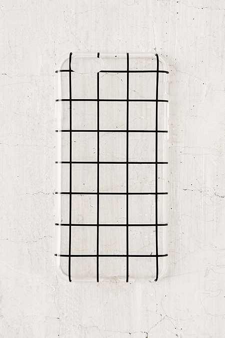 Coque motif grillage pour iPhone 6/6s