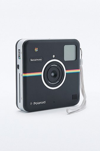 polaroid kamera socialmatic in schwarz urban outfitters. Black Bedroom Furniture Sets. Home Design Ideas
