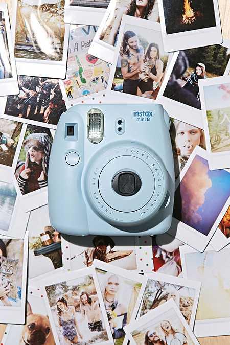 Appareil photo instantané Fujifilm Instax Mini 8 bleu ciel