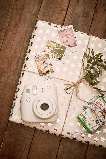Fujifilm - Kit appareil photo Instax Mini 8 blanc