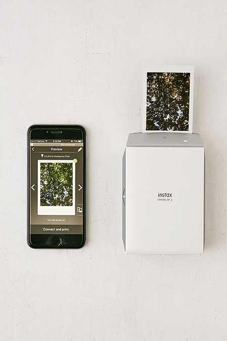 Fujifilm - Imprimante instantanée Instax Share SP-2 pour smartphone