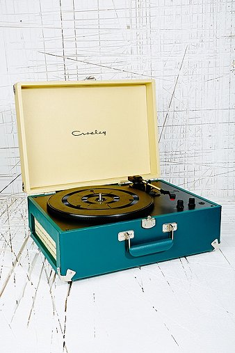 Crosley Keepsake Turntable UK Plug in Teal