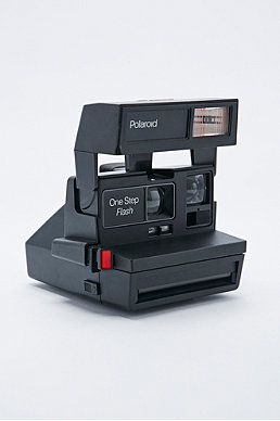 Impossible Refurbished 80s-Style Polaroid 600 Camera and Film Set