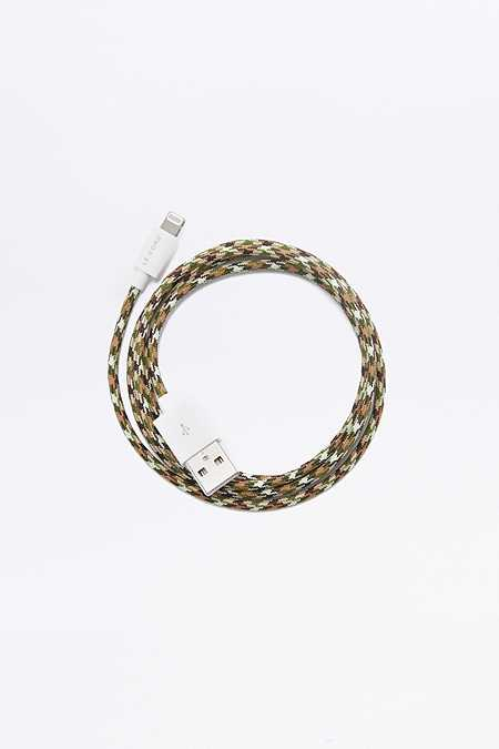 Le Cord Camo iPhone Lightning Cable