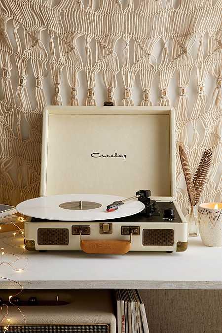 Crosley X UO - Tourne-disque portable Cruiser crème avec malette