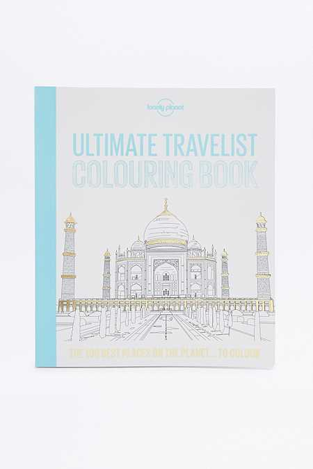"Malbuch ""Ultimate Travelist Colouring Book"""