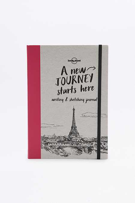 Journal A New Journey Starts Here : Writing & Sketching Journal
