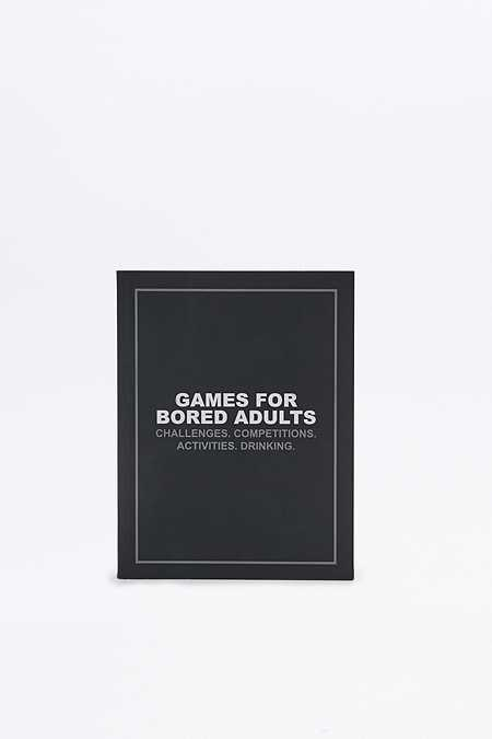 Livre Games for Bored Adults: Challenges. Competitions. Activities. Drinking.