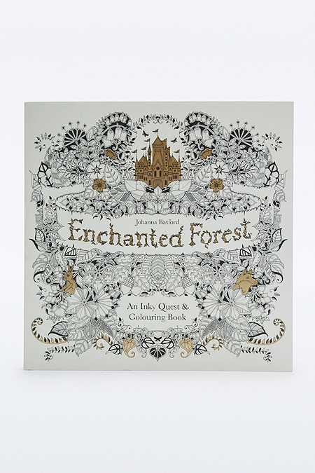 "Buch ""Enchanted Forest: An Inky Quest & Colouring Book"""