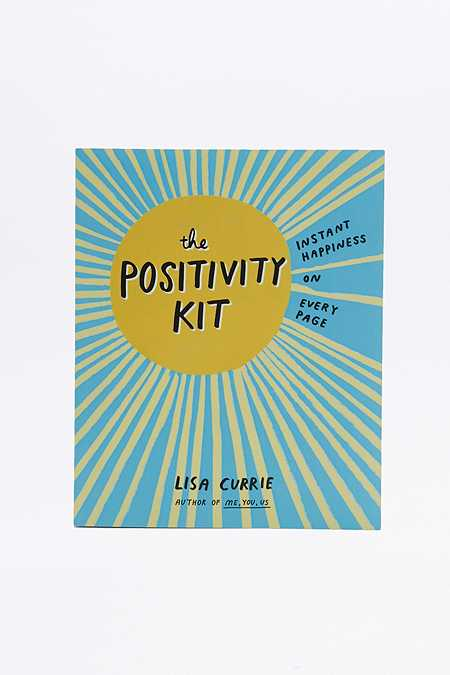 """Livre """"The Positivity Kit: Instant Happiness On Every Page"""""""