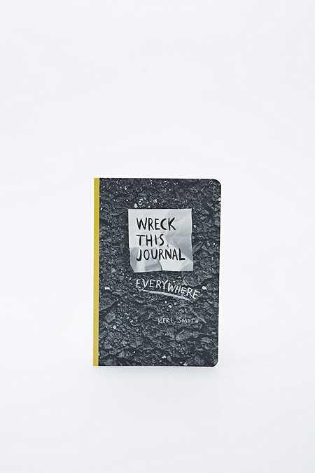 """Wreck This Everywhere"" Tagebuch"