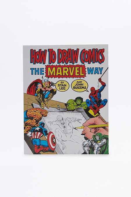 Livre How to Draw Comics The Marvel Way