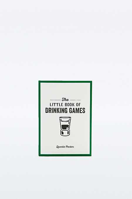 """The Little Book of Drinking Games"" Buch"