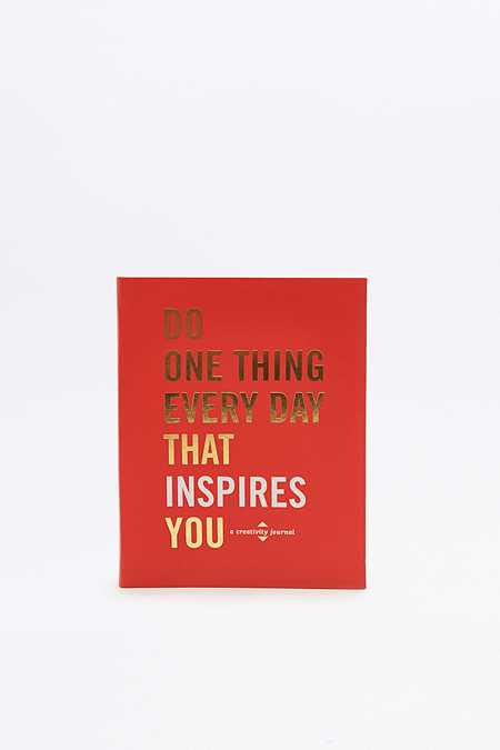 "Buch ""Do One Thing Every Day That Inspires You: A Creativity Journal"""